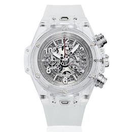 Большой взрыв выдалбливают часы Большой циферблат Полностью функциональные мужские кварцевые часы календарь наручные часы роскошные часы мужской подарок Relogio Masculino supplier wristwatches large от Поставщики наручные часы