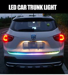 luces led de maletero del coche Rebajas Accesorio para automóvil Las luces LED para la decoración del automóvil luces traseras de colores carpa led llevó los frenos de la dirección del tronco modificado luces anti-cola