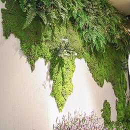 decorazione candela rossa Sconti 10 metri quadrati artificiale verde muschio piante tappeto erboso faux prati tappeti erbosi per giardino decorazione del partito casa