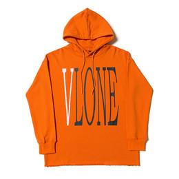 Nuevas sudaderas de moda online-Nueva Vlone Hoodie Mens diseñador sudadera tendencia alta calidad sudor hombres mujeres diseñador Hoodies tamaño S-XL