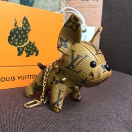 2019 llaveros coche jaguar Cadenas de moda Llaveros Clave Monedero colgante hebilla Bolsas Perros de la muñeca de la hebilla clave de 6 colores muy calidad con la caja