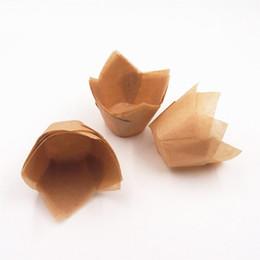 Canada Muffin Gâteau En Papier Gobelets Tulip Cuire Cupcake Wrapper Jetable Mini Plateau À Gâteaux Moule Cuisson Décoration 2000 Pièces DHL Offre