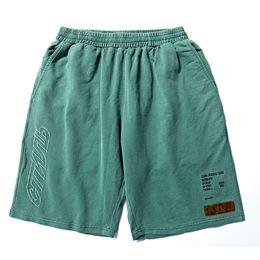 Heron Preston Shorts 1h: 1 de Alta Qualidade Shorts Camuflagem Shorts Homens Cordão Camo Mas culino Streetwear Heron Preston Curto de