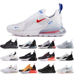 Weight shoe on-line-Nike air max 270 27c 2020 Hot OG Almofada e amortecimento de borracha Correndo Sneakers Light Weight 27 OG malha respirável amortecimento Sports Athletic Shoes