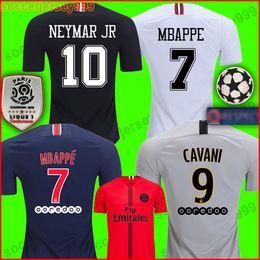 ca8e9ec4826122 PSG AIR JORDAN AJ soccer jersey football shirt tercera 18 19 chandal de  fútbol 2018 Paris Saint Germain jerseys champion campeones NEYMAR JR MBAPPE  kit ...