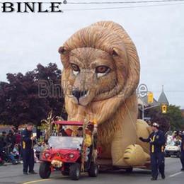 Lion gonflable géant de taille réelle de défilé lion grands animaux gonflables de dessin animé pour la publicité ? partir de fabricateur
