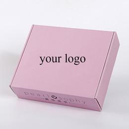 2019 trompeta digital Logotipo personalizado Camiseta Ropa Caja de embalaje Accesorios al por mayor Bufanda Pelucas Embalaje Caja de regalo