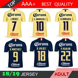 7f376668c09 Discount uniforms soccer america - 2018 2019 America LIGA MX Club Soccer  Jersey C.DOMINGUEZ