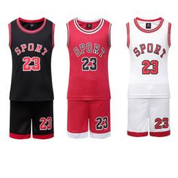 Vente chaude Enfant Basketball Jersey Garçons Pas Cher Basketball Shirt Shirt Enfant Throwback Basketball Uniformes Équipe Tranning Panier Sport Vêtements ? partir de fabricateur