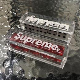 Акриловые коробки онлайн-Sup скорпион Акриловые шахматы маджонг бар ктв оптом прилив бренда могут быть настроены логотип в штучной упаковке высокого класса подарки