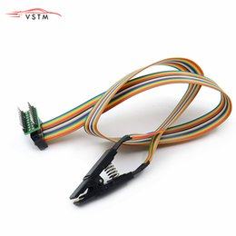 Sop pin online-Clip di test del programmatore Clip di test SOP16 SOP SOIC 16 SOIC16 Pin IC Test Clip da SOP16 a DIP8 Flash per 25 serie RT809F TL866CS TL866A