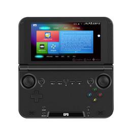 Portátil gb online-GPD XD Plus 5 pulgadas 4 GB / 32 GB MTK 8176 del coche de seis núcleos de mano consola portátil jugador del juego de Gamepad