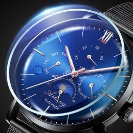 032a86d12d9 Original top marca de luxo wirst relógio dos homens de design simples  relógio de mergulho automático mecânico minimalismo masculino starking   watch