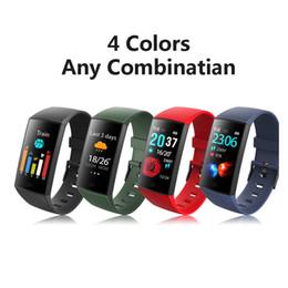 Akıllı Bilezik CY11 Spor Izci Gerçek Kalp Hızı ile Akıllı Spor Watchband iPhone Android Cep Telefonları için Renkli LCD Ekran nereden ücretsiz numuneler gözlükleri tedarikçiler