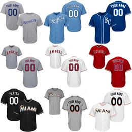 2019 angelo città Maglie da baseball personalizzate Marlins Kansas Uomo Kansas 13 Salvador Perez City Los Angeles 27 Mike Trout Angels of Anaheim Jersey sconti angelo città