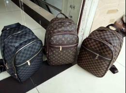 Louis mochila on-line-Nova mochila de designer Doxford Double Shoulder Bag XXLLouis vuitton Mochilas de viagem ao ar livre de luxo para mulheres estudantes mochilas