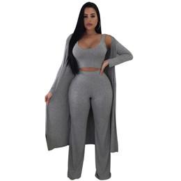 Loisirs printemps automne costume trois pièces (manteau + gilet + pantalon) noir et gris pantalon droit beach club trois pièces pantalons ensembles NB-951 ? partir de fabricateur