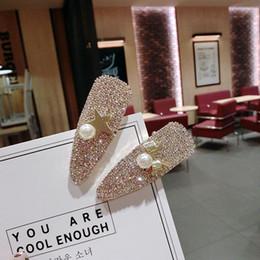 Youling moda de lujo de diamantes de imitación de cristal pinzas para el cabello de acrílico horquilla accesorios para el cabello para mujeres cartas Headgrip Headwear desde fabricantes
