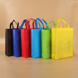 2019 tampa de poeira ps4 Nova colorido dobrar saco de tecido não-tecido dobrável de compras sacolas reutilizáveis ecologicamente correta dobrar o saco Sacos sacos novos Ladies armazenamento