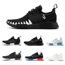 60ce4237d 2019 NMD R1 Oreo Runner Japan Nbhd Primeknit OG Triple Black White Camo  Running Shoes Men Women Nmds Runners Xr1 Sports Trainers Size 36-45 on sale
