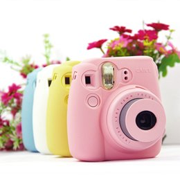 Argentina Estuche para Fujifilm Instax Mini 9 / Mini8 / Mini 8 Plus con cubierta de bolsa de cámara de Digital Luminous Shell Jelly Set Suministro