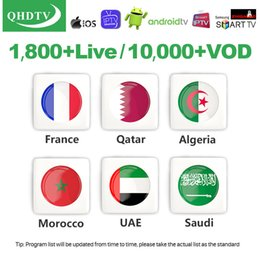 3 6 12 Meses Código QHDTV Subscription vivo VOD para Enigma2 M3U dispositivo Android Smart TV conta arabic QHD TV francês um ano APK Europeia de