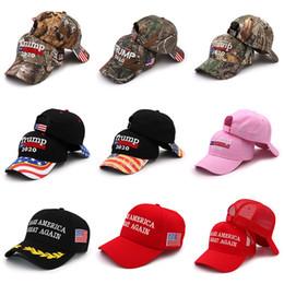 cappelli di lana di animali dei capretti Sconti Camouflage Donald Trump 2020 Berretto da baseball Ricamo Rendi grande l'America Cappello repubblicano Presidente Trump Caps Q321
