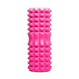 Pilates Fitness Muscle Deep Massage Scava fuori schiuma 1,1 kg Yoga Fitness Fitness, nero, rosa, viola supplier yoga column da colonna di yoga fornitori