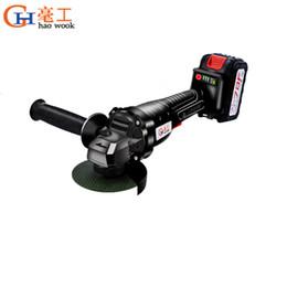 20V Lithium-Ion sans fil Angle Grinder6000mAh rectifieuse de coupe électrique meuleuses Broyage outils électriques pour la maison bricolage ? partir de fabricateur