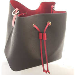 Argentina Best Selling Orignal Classic Ladies Shoulder Bags Cuero Moda Bolso Bucket Bags Diseñador Messenger Hopping Monedero Neonoe 44020 Suministro