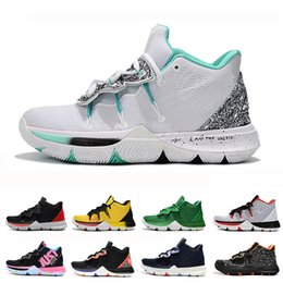 2019 Kyrie Men 5 Basketball Shoes for Cheap Sale Irving 5s Sneakers Sports  Mens Shoe Wolf Grey Team Red Outdoor Trainers BasketBall Shoes 7e93d92ca