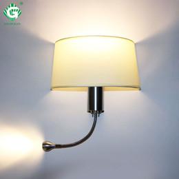 Sconcis de parede de vaidade on-line-Modern LED Lâmpada de Parede com Interruptor E27 Lâmpada Arandelas Quarto Interior Vanity Banheiro Decoração Industrial Casa Parede Montada Luz