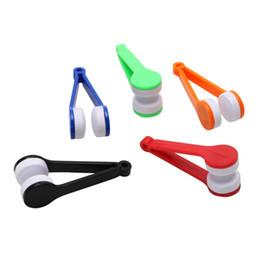 Стеклоочистители для очков онлайн-Щетка для очистки очков Мини Микрофибра Мягкие солнцезащитные очки Чистящие средства для чистки Солнцезащитные очки Солнцезащитные очки Портативный