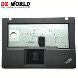 2019 wc cover Nuevo / Orig Panel Teclado Panel Reposacabezas Palm Cover para Lenovo ThinkPad L460 L470 sin Touchpad con orificio para huellas dactilares 01AV943 01HW943 wc cover baratos