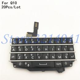 2019 parties de mûre 20pcs / lot bonne qualité clavier pièce de rechange flex pour blackberry touches clavier Q10 réparation pièces parties de mûre pas cher