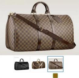 Bolsos de cuero americano online-2019 LOUIS VUITTON y el bolso de la moda estadounidense de cuero de grano cruzado solo bolso de hombro de las mujeres bolsa de compras de otoño de las mujeres bolsaAA5