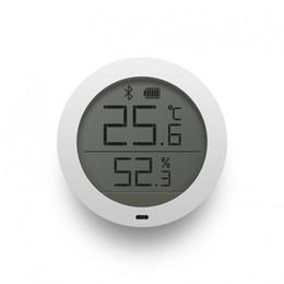 Chegada nova Original Xiaomi Mijia Bluetooth Temperatura Inteligente Sensor de Umidade Termômetro Digital Medidor de Umidade Higrômetro higrotermógrafo de