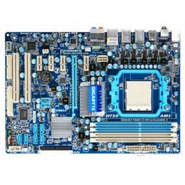 schede madri am2 Sconti Per Gigabyte GA-MA770T-UD3 Scheda madre desktop utilizzata originale MA770T-UD3 770 presa AM3 DDR3 SATA2 USB2.0 ATX