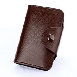 Deutschland Echtes Leder-Kartenhalter Unisex-Kreditkarteninhaber Geldbörse Bank Kreditkartenetui ID-Kartenhalter Frauen-Karteninhaber porte carte Versorgung