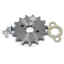 15 atv online-428-17MM 10 11 12 13 14 15 16 17 18 19T Dente Pignone Dirt Pit Bike ATV