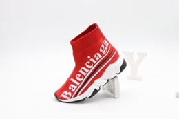 Jungen wandern stiefel online-Sportschuhe des roten Schuhes des Kinderschuhs beschuht kleinen Jungenmädchen auf Wanderschuh schwarze Basketball-Fußballschuhe Eu 26-35