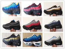 e44d20508c Nike Air Max 95 youth Running Shoes kid Sneakers Shoes Air run 95 out door Sports  shoes size 28-35