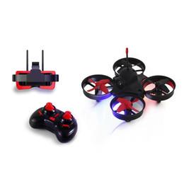 Argentina FB13S Micro Drone FPV RC con 5.8G 800TVL 40CH Cámara FB - 009 3 pulgadas Gafas VR Auriculares RC Helicóptero de juguete Drone Suministro