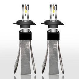 hb4 led scheinwerfer Rabatt 2018 führte neuer 3000K 4300K 6000K Autoscheinwerfer H4 H1 9006 hb4 9005 hb3 H11 H7 LED Birnen-Automobil-Lichter CSP-Lampe 6000K 12V 24V