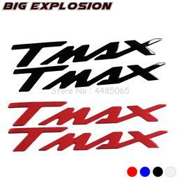 Motorrad-tank embleme online-Motorrad-Aufkleber Emblem Badge 3D Aufkleber Raised Tank-Rad-Behälter Abziehbilder Applikationen Emblem für YAMAHA TMAX 2017
