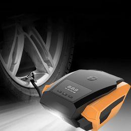 12v автомобильный воздушный компрессор Скидка Автомобиль надувной насос 12 в воздушный компрессор портативный автомобильные шины Инфлятор мини электрические автомобили на автомобилях воздушные компрессоры инструмент