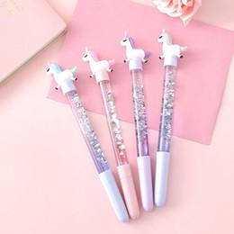 0.5 mm Kawaii Treibsand Gel Pen Signature Pen Schule Bürobedarf