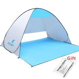 KEUMER Beach Tente Pop Up Open Camping Tente Pêche Randonnée Extérieure Automatique Instantané Portable (120 + 60) * 150 * 100cm Anti-UV Abri ? partir de fabricateur