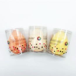 Esponja corretiva on-line-Esponja De Maquiagem Professional Puff Cosméticos Para Fundação Corretivo Creme Beleza Make Up Soft Water Sponge Atacado