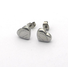 2019 925 herzschmucksachen Brandneue 925 Silber Designer Ohrringe Mode Frauen 3D Herz Bohnen Ohrring Armband Halskette Luxus Titan Stahl Schmuck-Set
